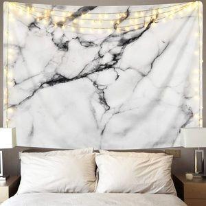 Other - Black and White Tapestry Marble Wall Hanging